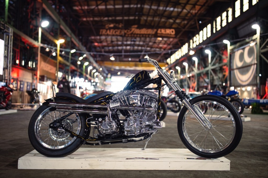 """1951 H-D """"The Hard Way"""" from Bates Cycles"""