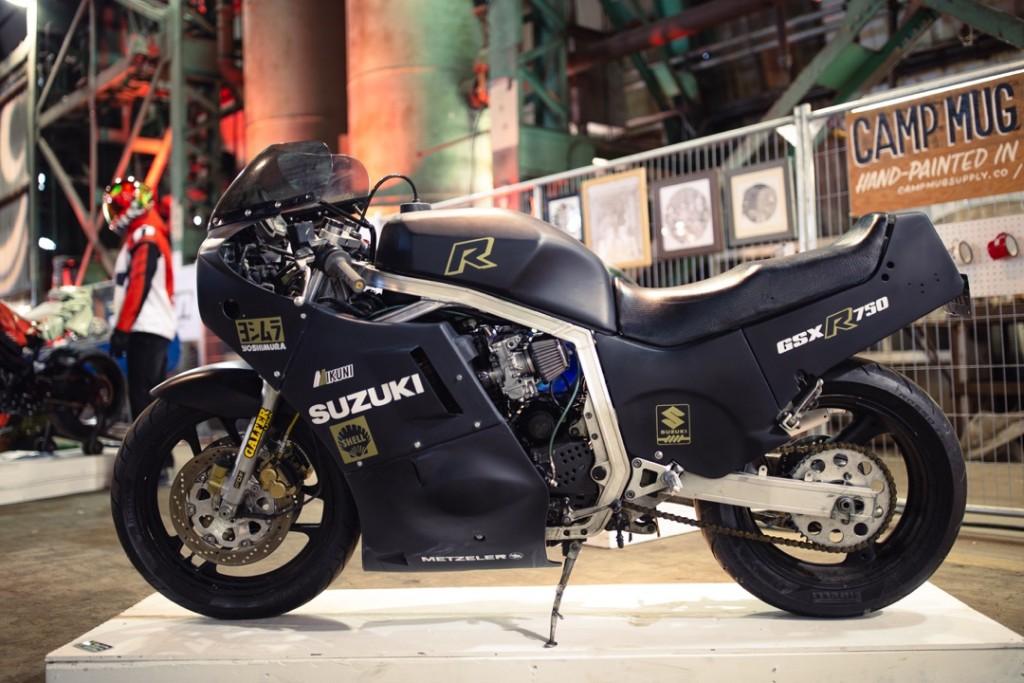 1986 Suzuki GSX-R750 from Cole