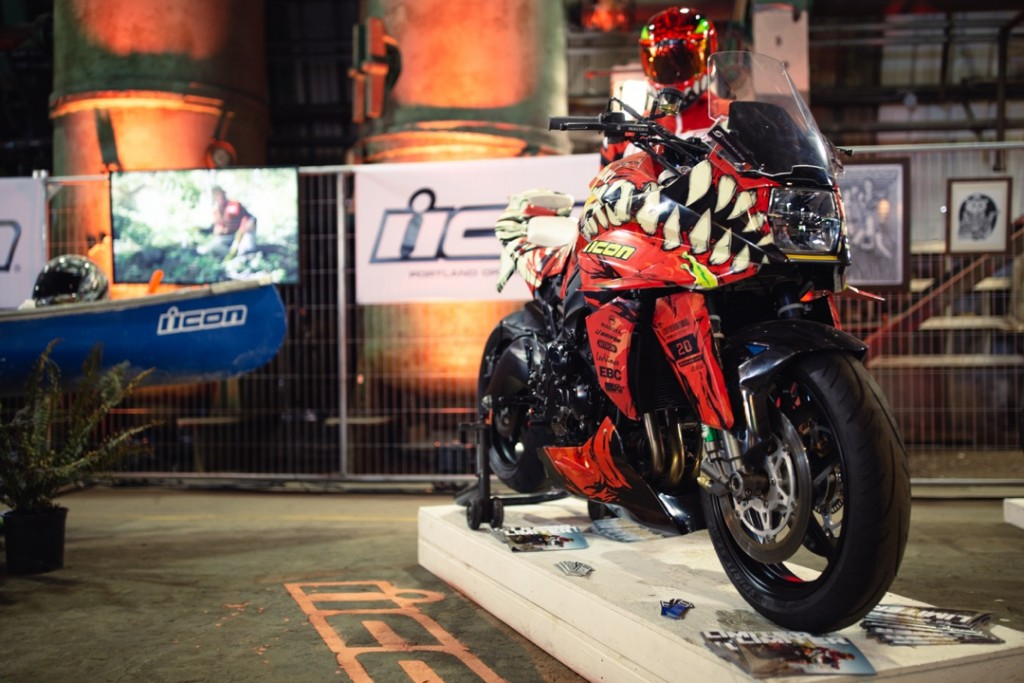 Suzuki Katana from Icon 1000