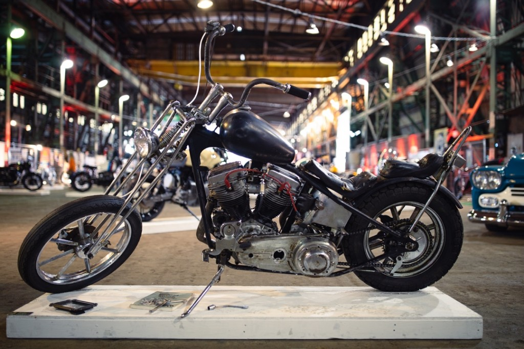 1948 H-D Panhead from Richie