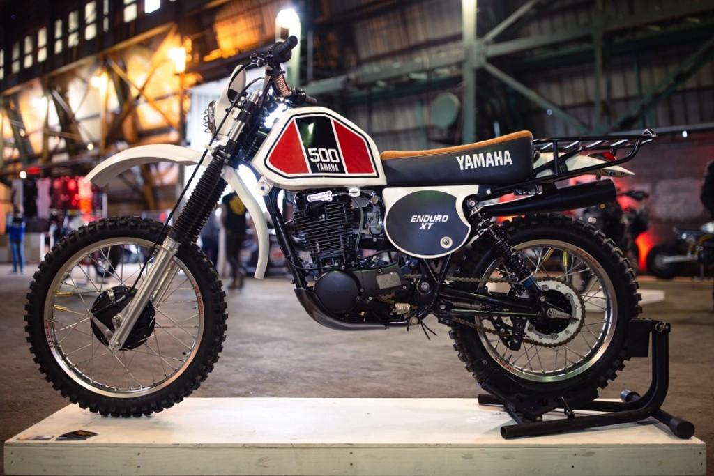 1977 Yamaha XT600 from Kick Start Garage