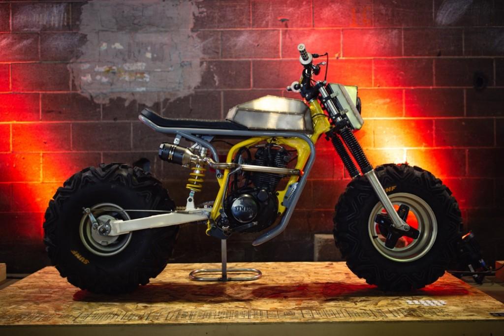 1984 Yamaha BW200 WKND from Destijl Moto
