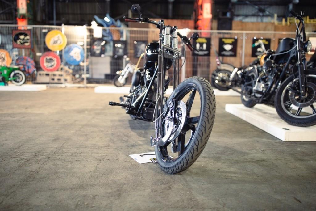 """H-D """"Long Bike"""" by Jeff Mel"""