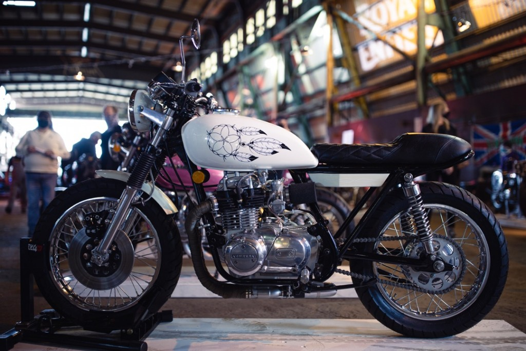 1975 Kawasaki KZ400 from Jordan E.
