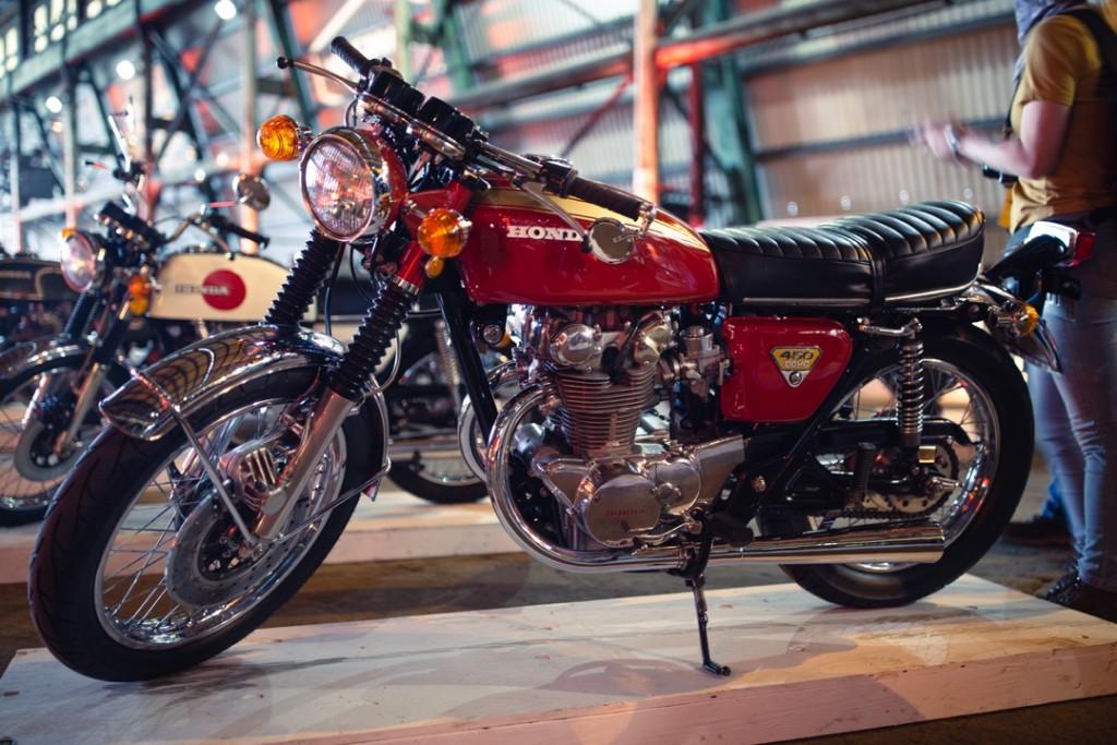 1970 Honda CB450 from Cummings