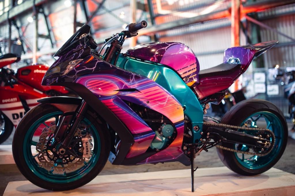 """2005 Kawasaki """"Synth Wave"""" from Joel Grey"""