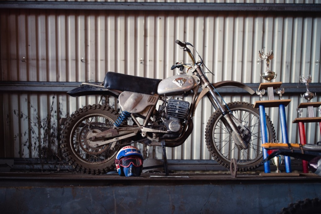 1971 Maico 400 from Larry