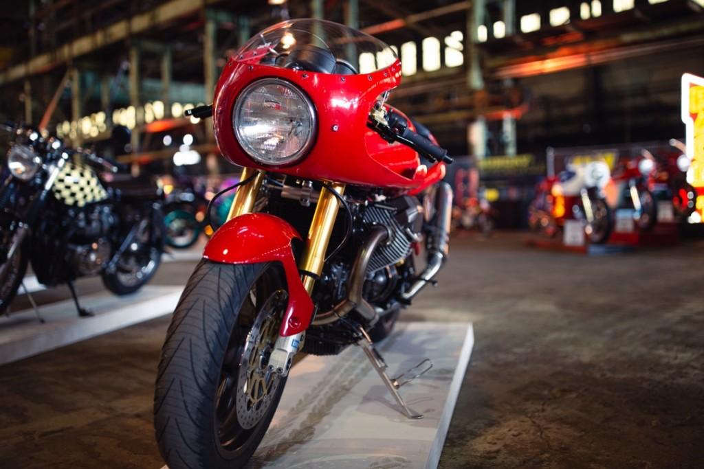 2009 Moto Guzzi V11 Cafe Sport from M. Padilla
