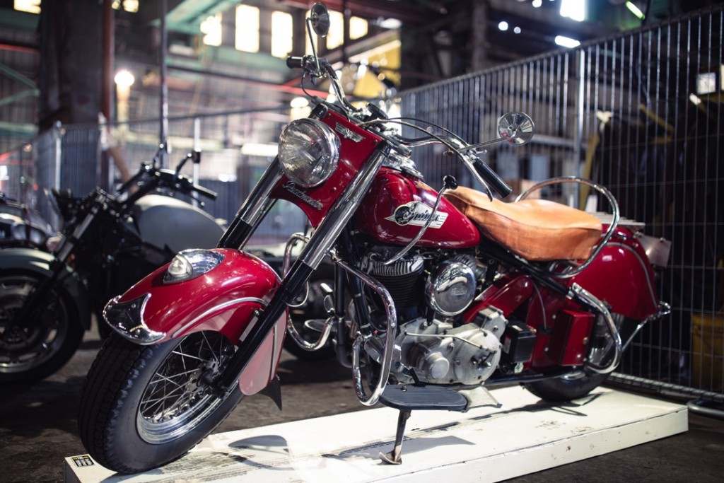 1953 Indian Chief from Tom Krise (OR Antique Moto)