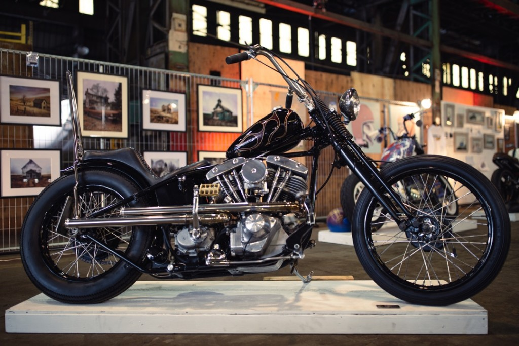 """1974 H-D """"Purple Panther"""" from Freak Show"""