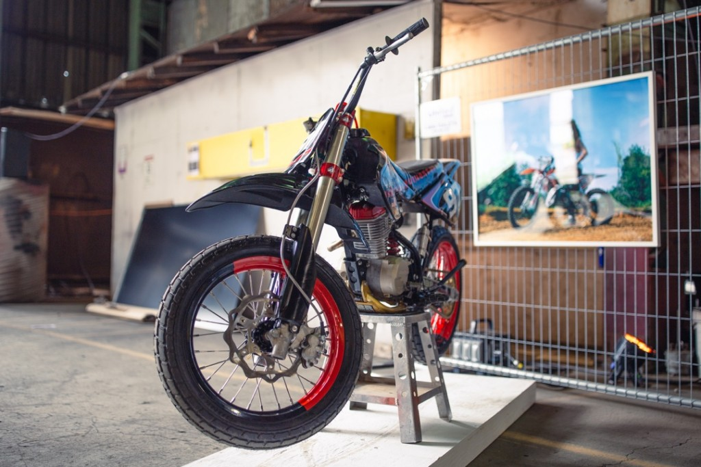 Honda XR100 by @gregorhalenda