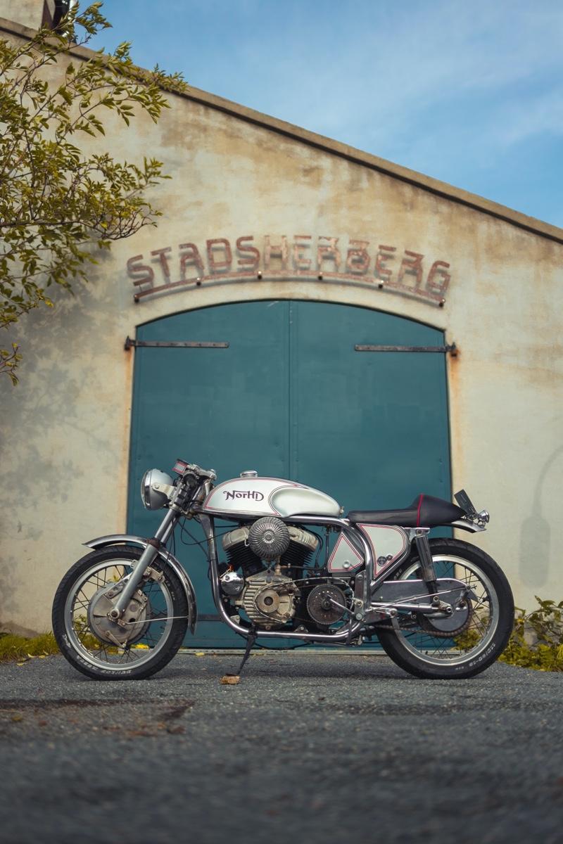 Norton Harley Cafe Racer