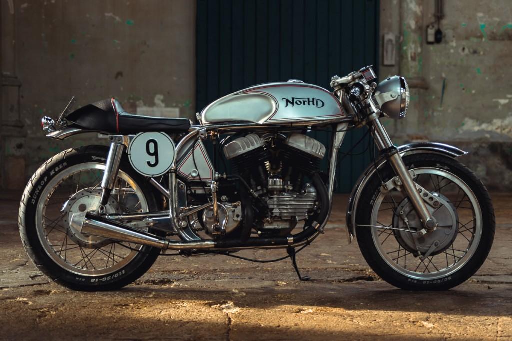 Harley Norton Cafe Racer