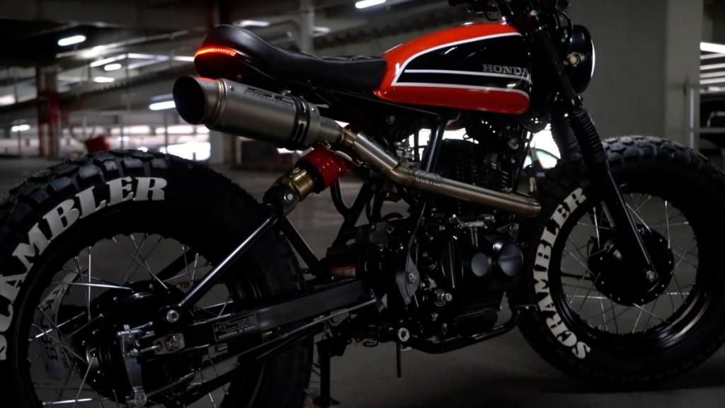 Honda CG150 Scrambler Tracker