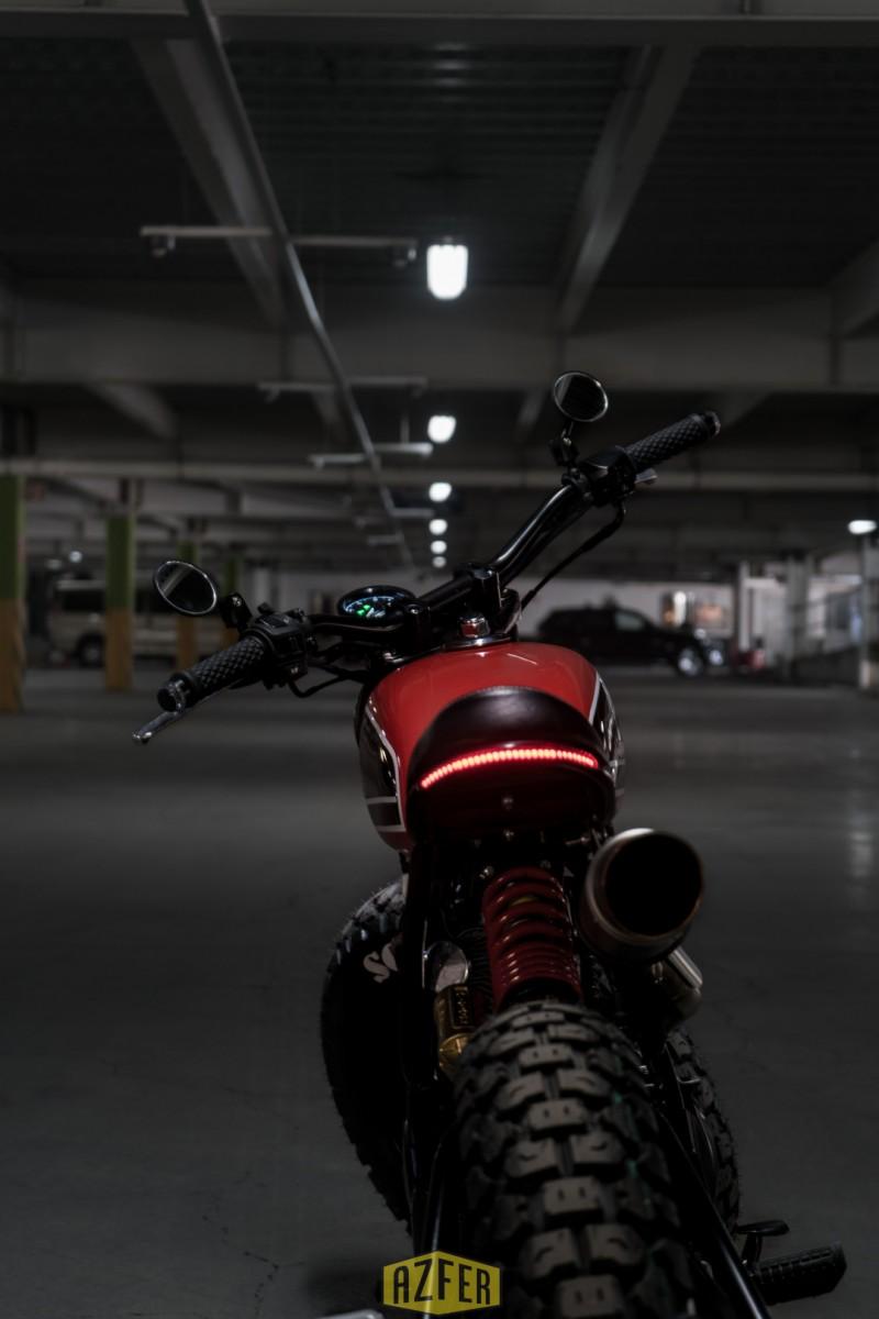 Honda 150 Custom