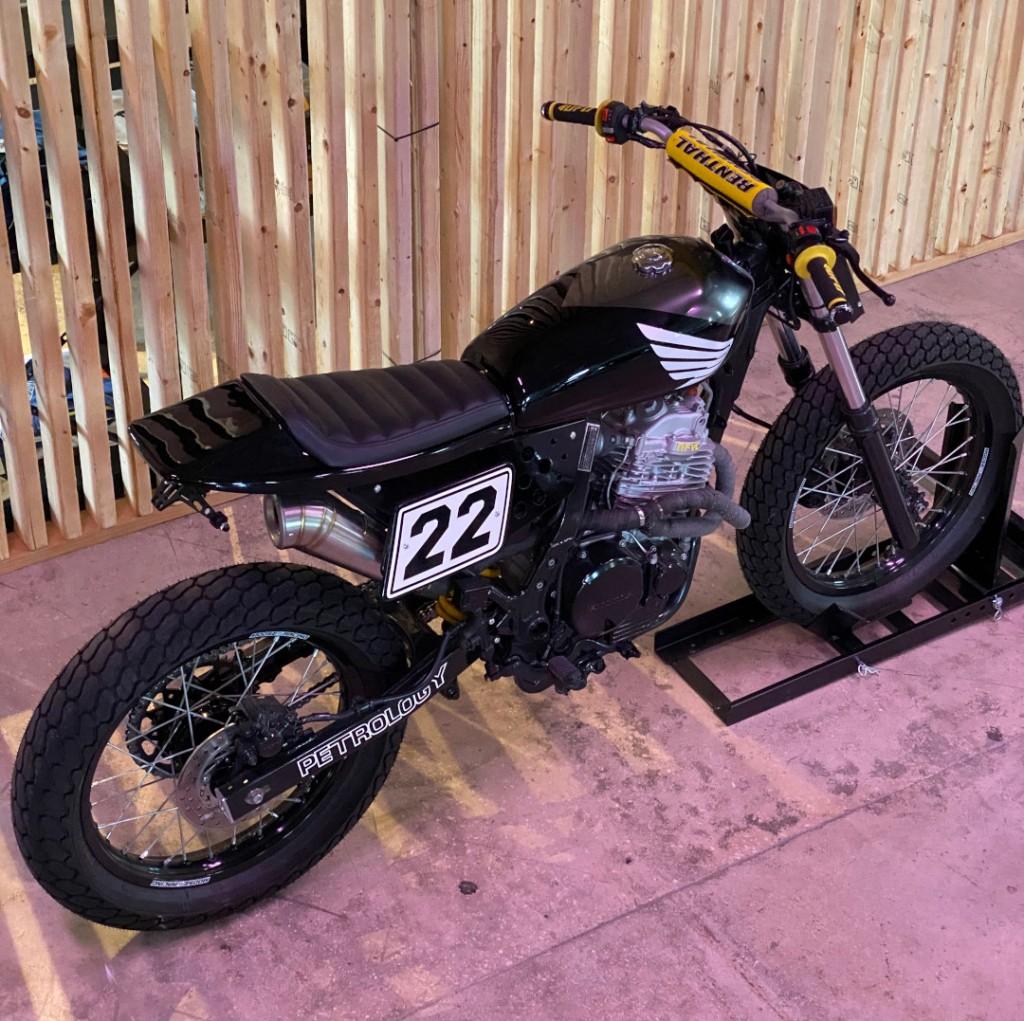 Honda NX650 Street Tracker