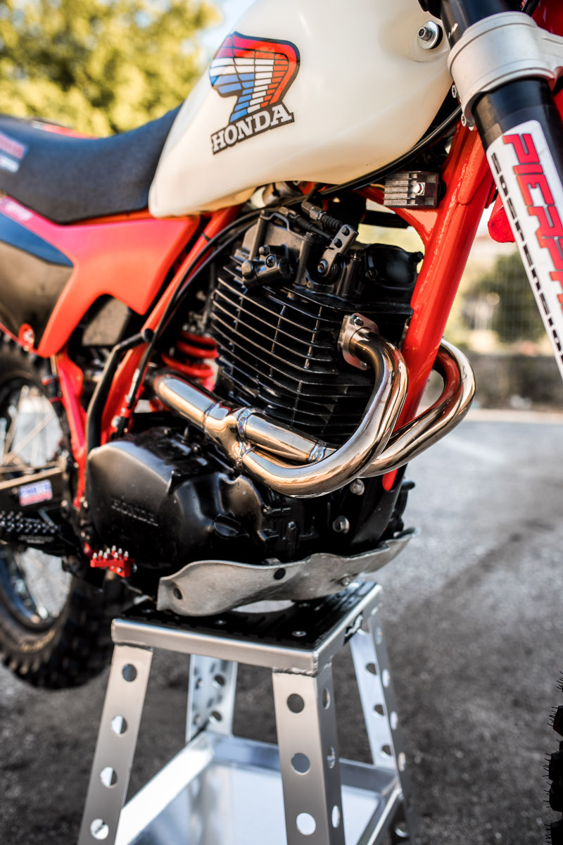 Honda XL500R Restomod