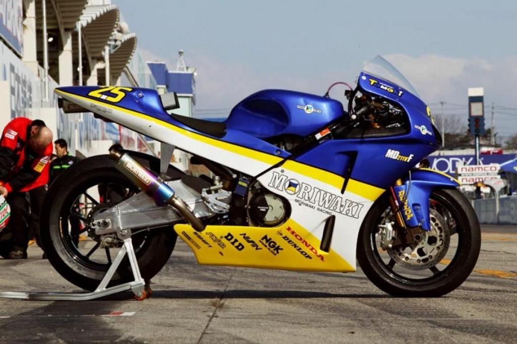 """Moriwaki MD211VF """"Dream Fighter"""" MotoGP bike"""