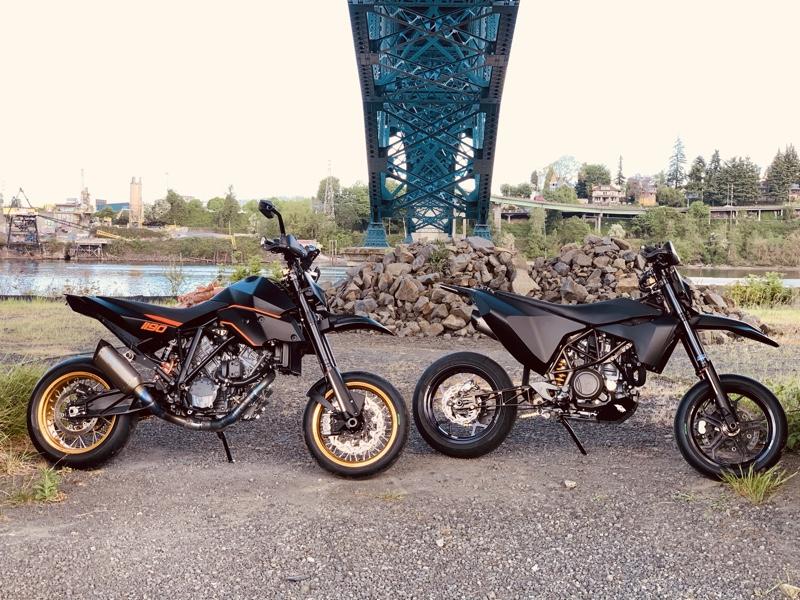 Husky 701 Supermoto Custom