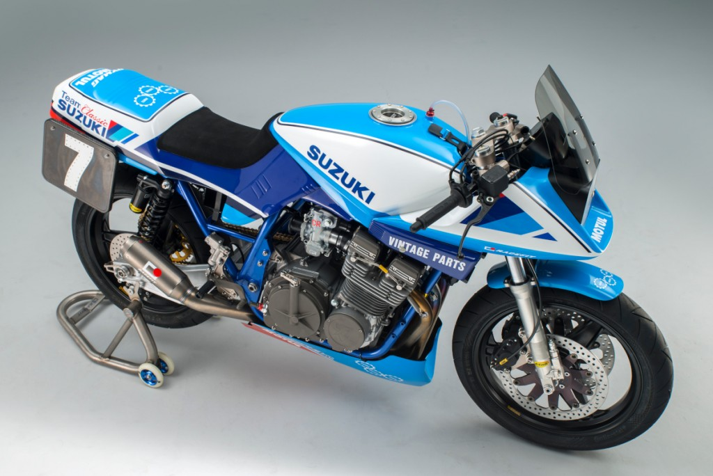 Suzuki Katana Race Bike