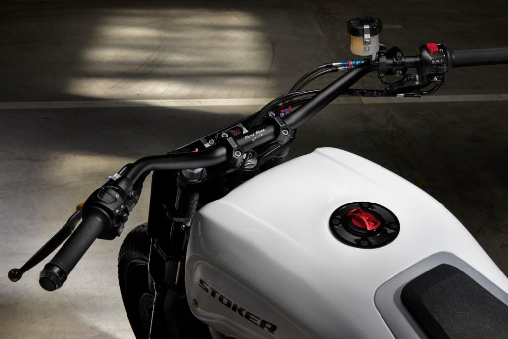 Suzuki SV650 Street Tracker