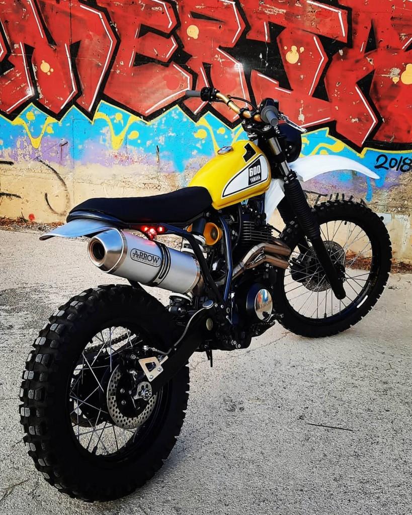 Yamaha XT600E Scrambler