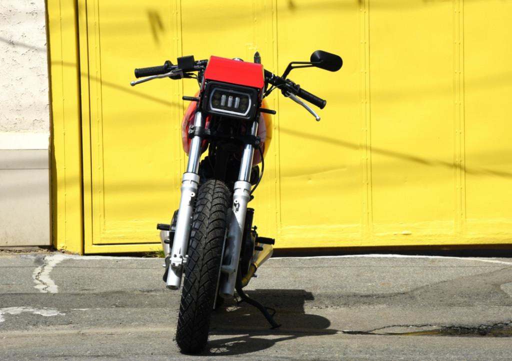 Honda FX650 Custom