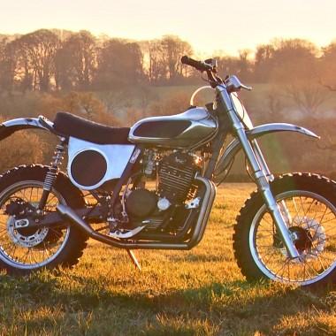 Honda XL600 Desert Sled