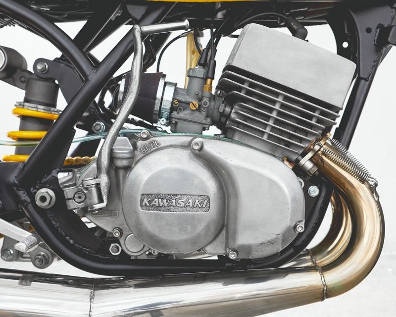 Kawasaki S3 Restomod Cafe Racer