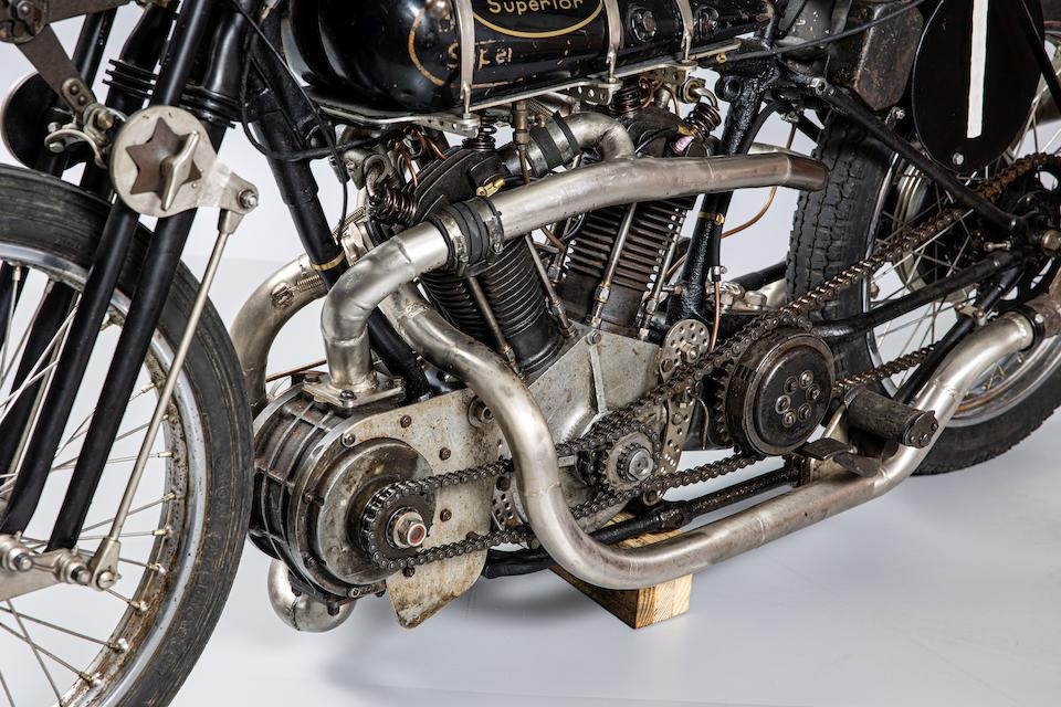 Supercharged Brough Superior