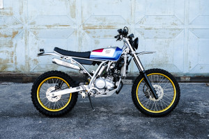 Yamaha WR155R Scrambler