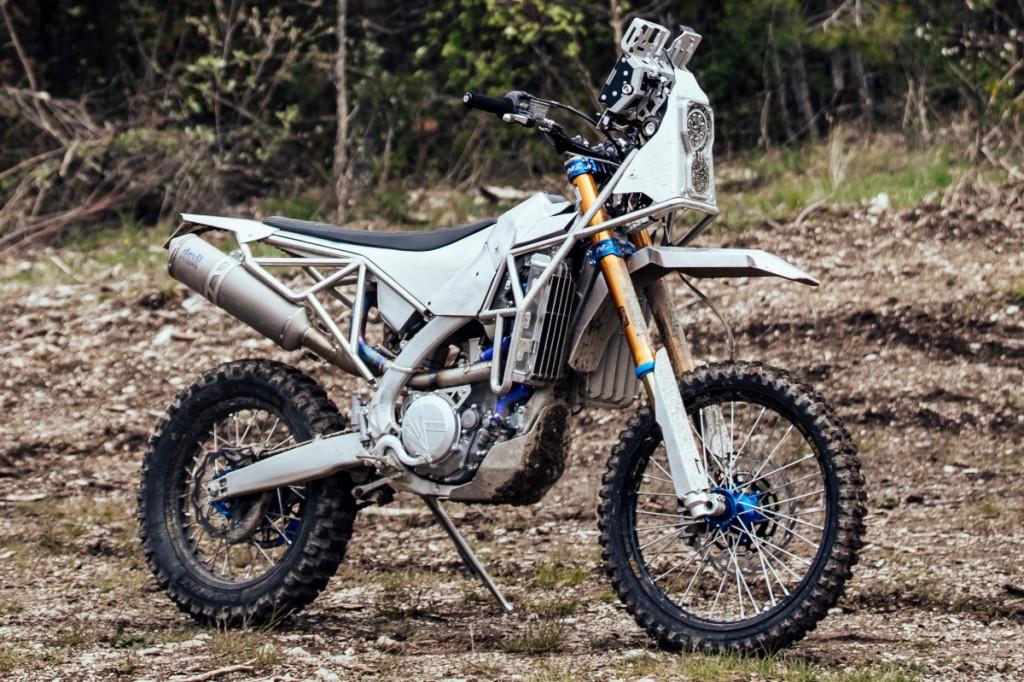 Yamaha WR450 Rally Bike