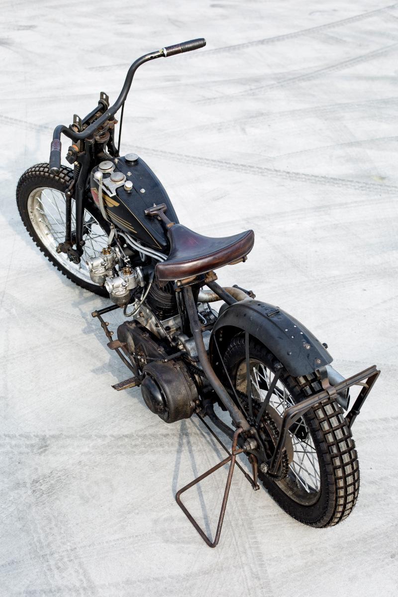 Harley Knucklehead Racer