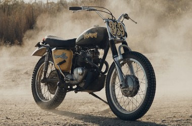 Triumph T100C Desert Sled