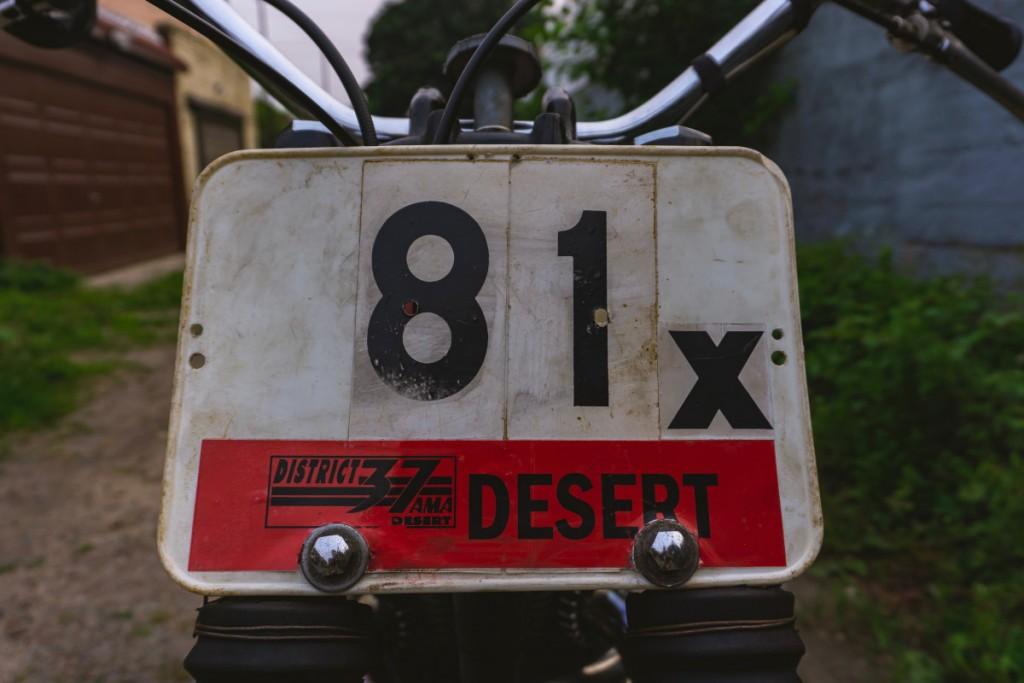 Triumph TR6C Desert Sled