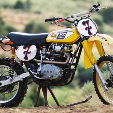 Yamaha XS650 Vintage Motocross