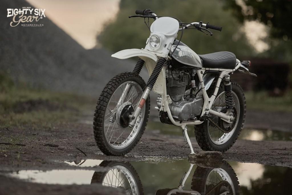 Yamaha SR500 Scrambler