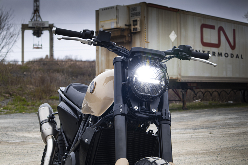 KTM Duke 690 Scrambler