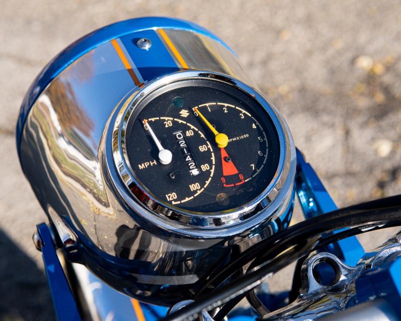 Suzuki T500 Cafe Racer