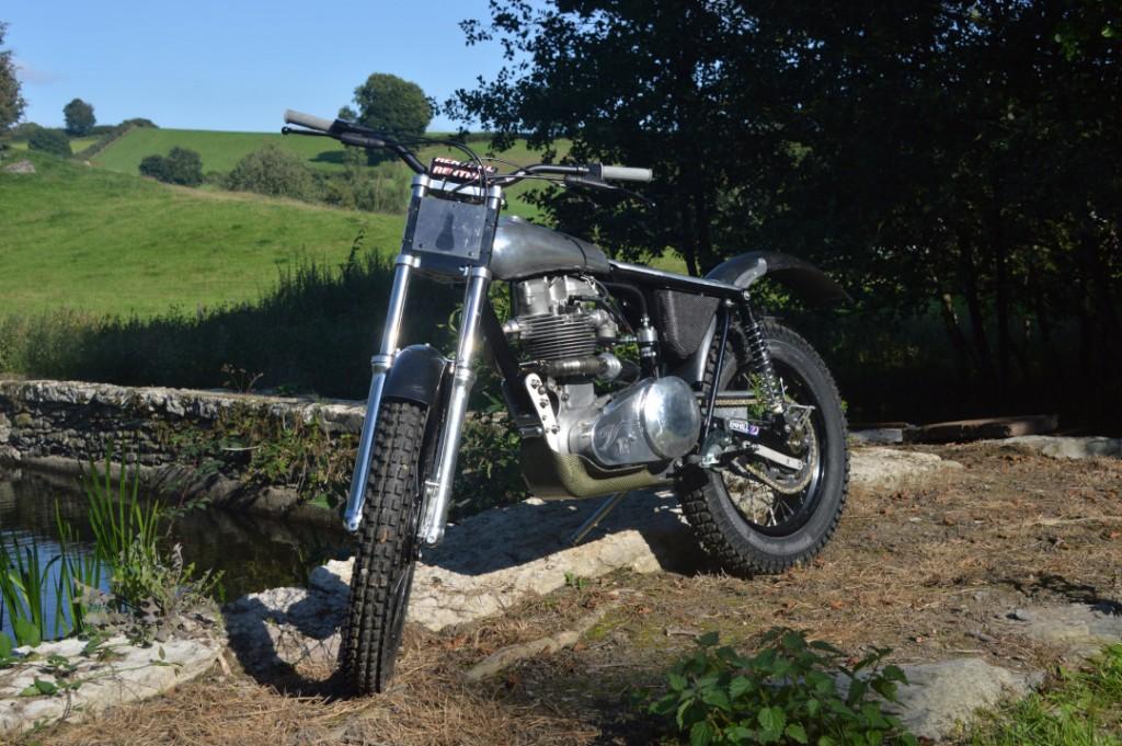 Velocette 350 Trials