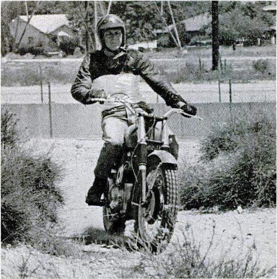 Steve McQueen BSA Hornet