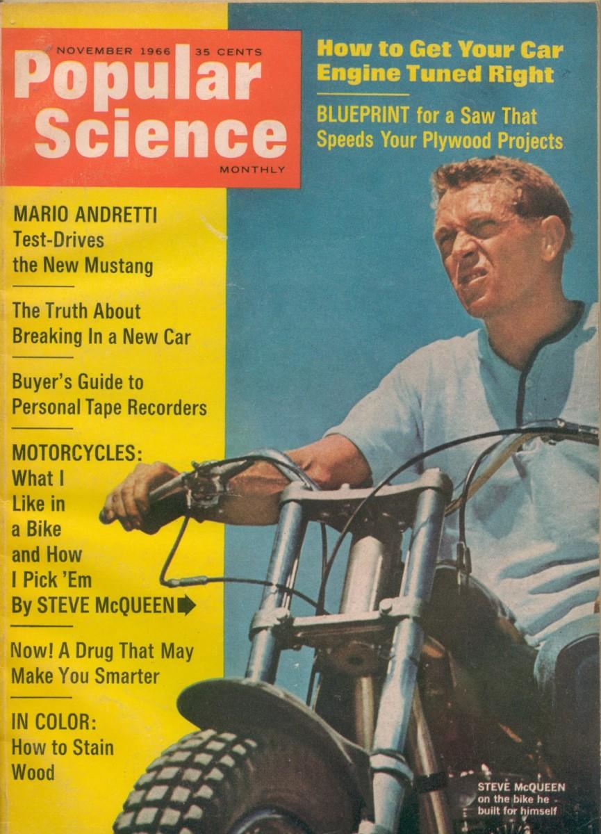 Steve McQueen Popular Science